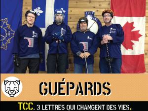 Équipe : Guépards - Connexion >TCC.QC