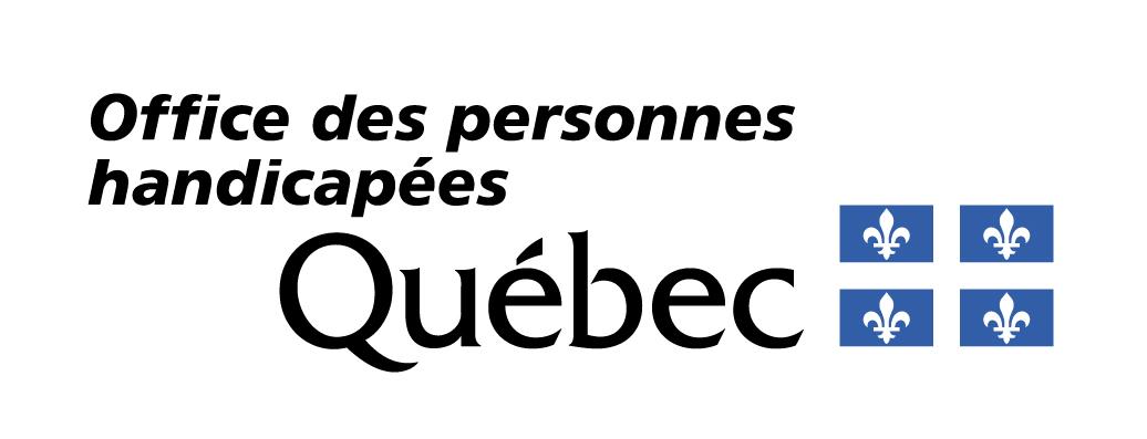 Logo OPHQ : Office des personnes handicapées du Québec